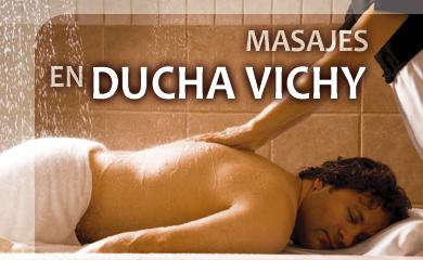 Masajes en Ducha Vichy