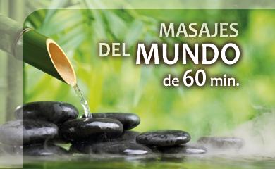 Masajes del mundo en Salamanca 60 min