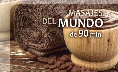 Masajes del mundo en Salamanca 90 min