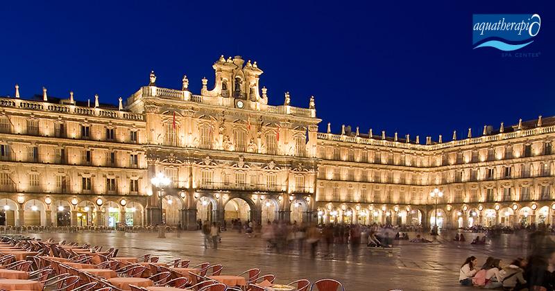 ¡Escápate a Salamanca! Disfruta de las #SensacionesAquatherapia y de nuestro SPA