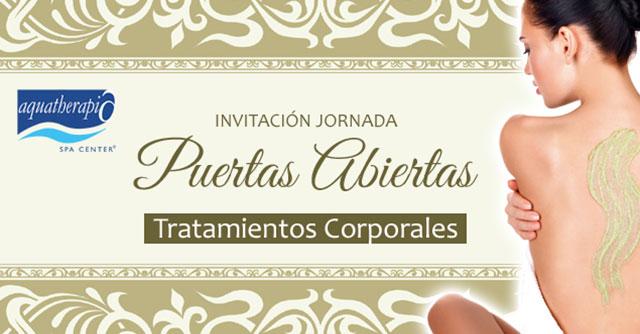 Invitación: Jornada de Puertas Abiertas Corporal