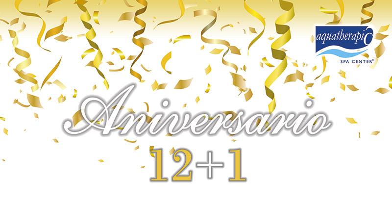 Celebra con nosotros el Aniversario 12 + 1