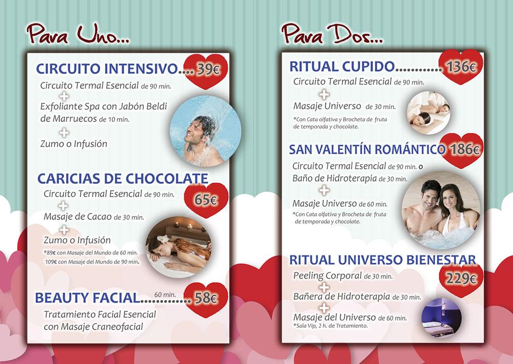 Ofertas San Valentín Spa Salamanca