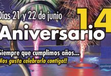 Llega el 14º Aniversario de Aquatherapia